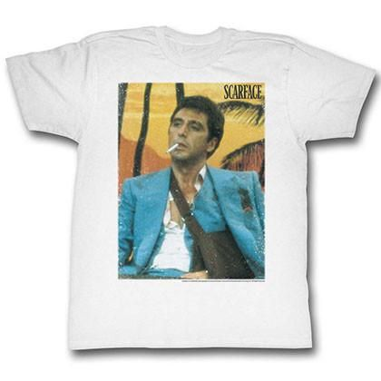Scarface Movie CLASSIC POSTER The World is Yours Licensed T-Shirt All Sizes