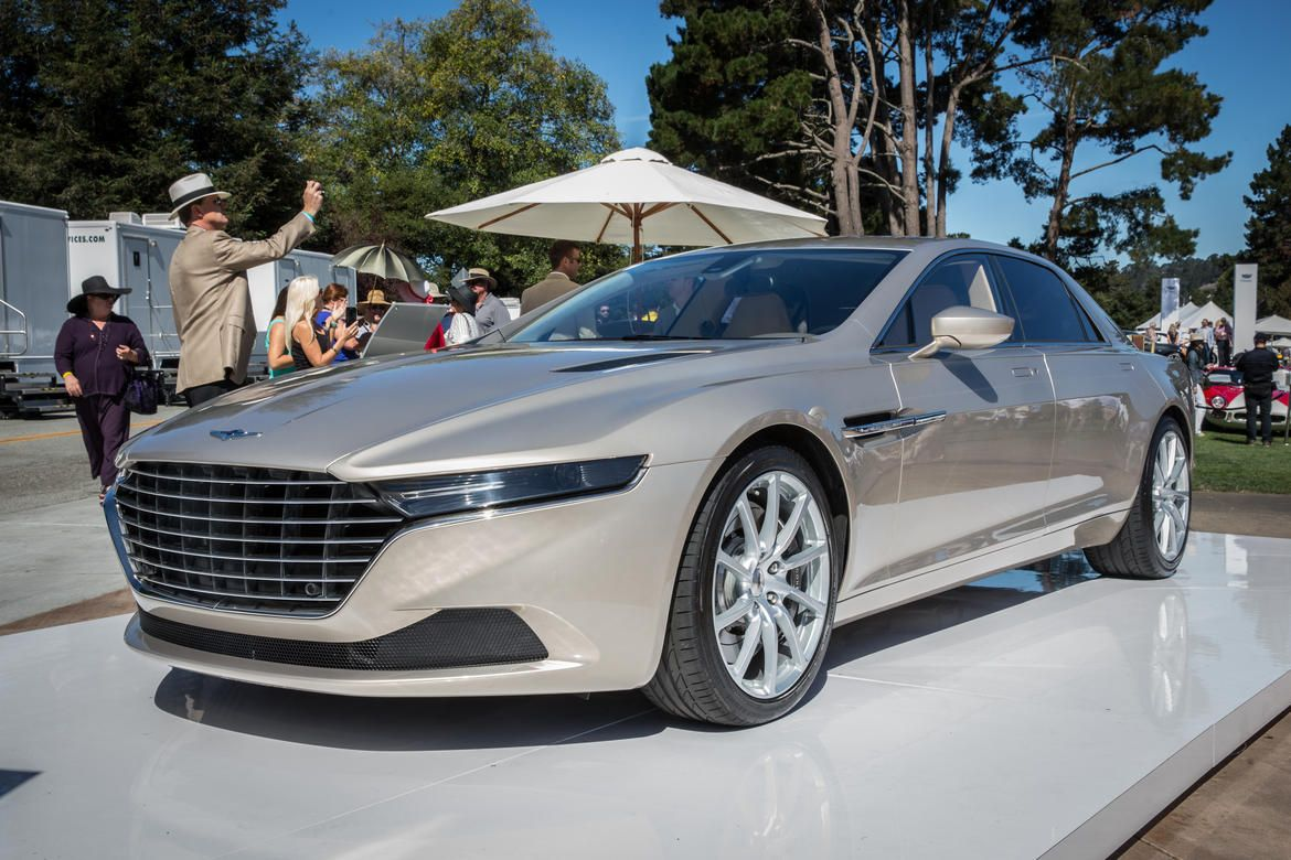 The angular and luxurious Lagonda Taraf super saloon will be limited to just 200 examples.