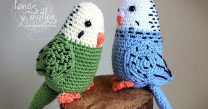 Vogelwellensittich Häkelnanleitung Häckeln Pinterest