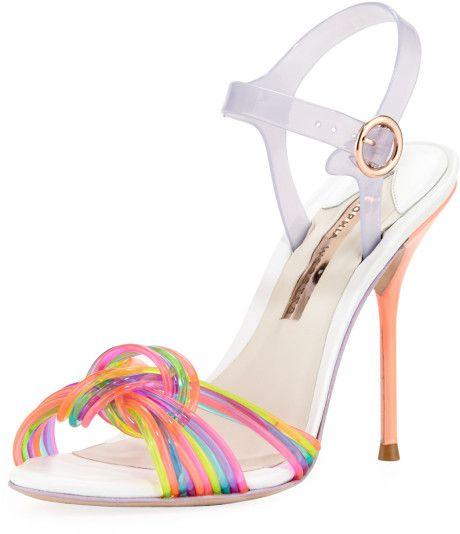 c6fa7a2c0390 Sophia Webster - Multicolor Coralie Anklewrap Jelly Sandal Multi - Lyst