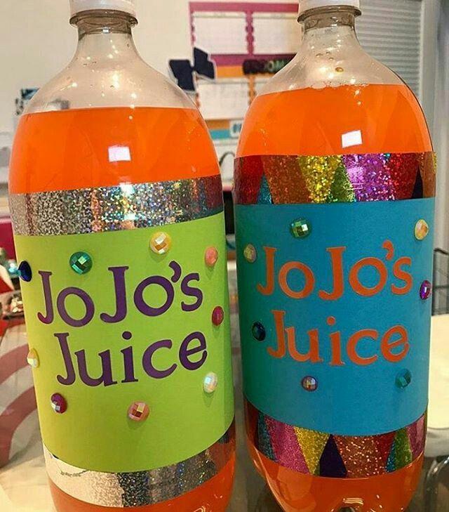 Love jojo's juice and JoJo herself