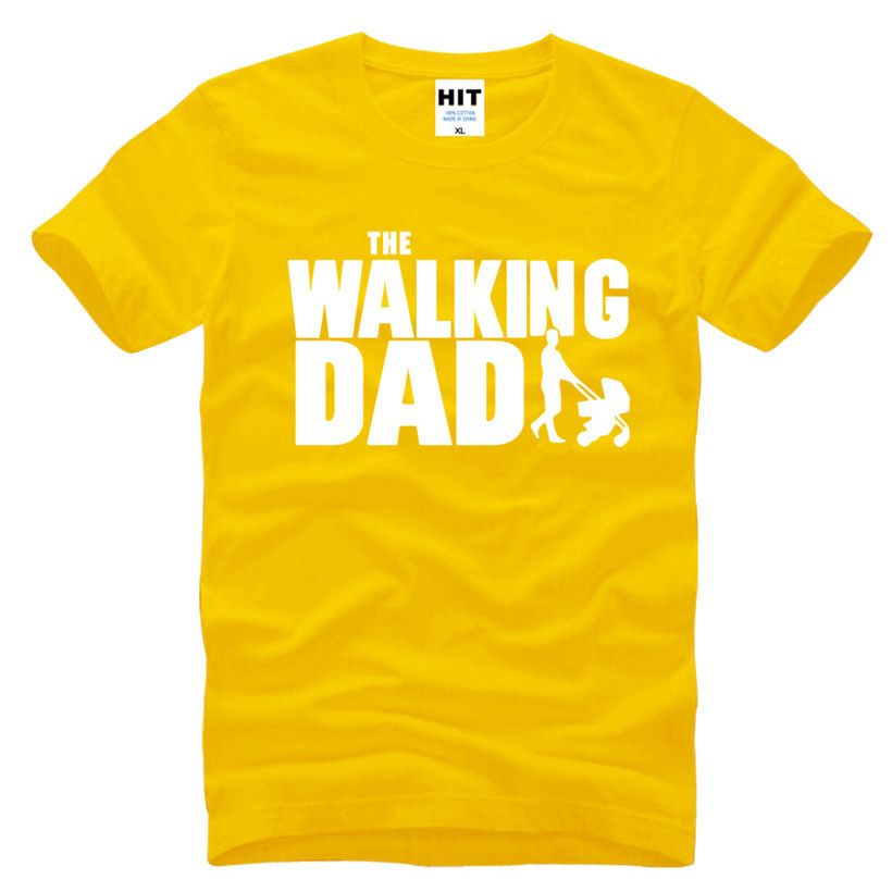 The Walking Dad Fathers Day Gift Men S Funny T Shirt T Shirt Men Short Sleeve The Walking Dad Mens Summer T Shirts T Shirt