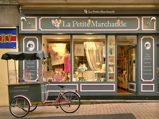 La petite marchande store fronts france and store - La petite marchande angers ...