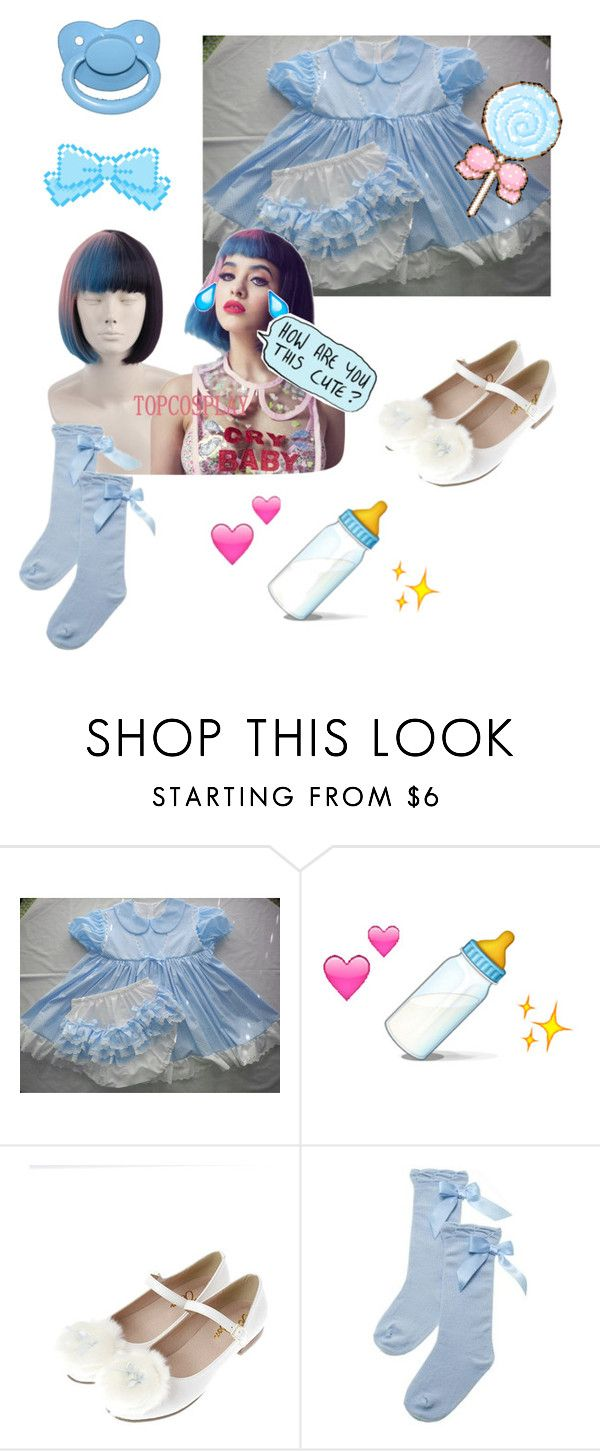"""""""Baby blue💙🍼"""" by dazzling-pink-elaina ❤ liked on Polyvore"""