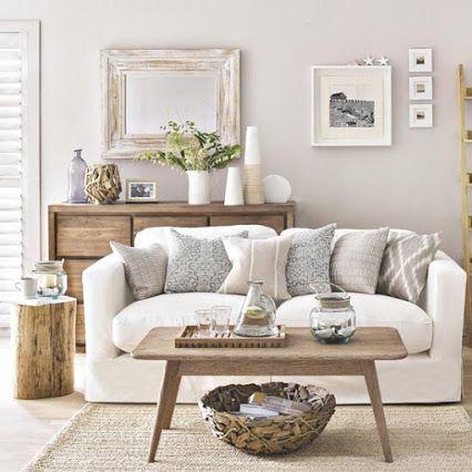 inspiring coastal living rooms leather sofas   Interior Design - Community - Google+   Living Room, 2019 ...