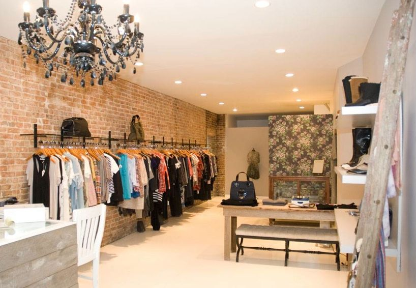 Jumelle Boutique Interior Boutique Interior Design Clothing