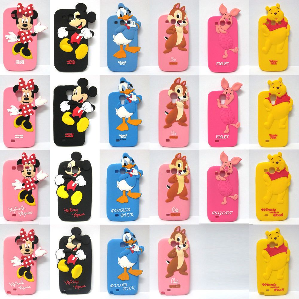 bf920e0198 Cute Disney Cartoon Characters Soft Case Cover For iPhone & Samsung Galaxy  Phone #UnbrandedGeneric