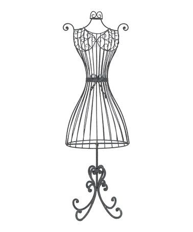 "Take a look at this 19"" Wire Dress Form by Designs ..."