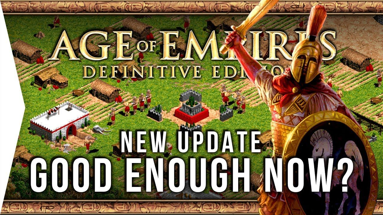 Age Of Empires Definitive Edition 1 Year In Good Enough Now