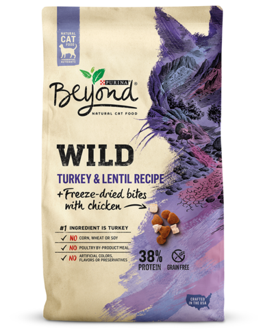 Wild Turkey Lentil Recipe Freeze Dried Bites With Chicken Natural Cat Food Essential Nutrients Dry Cat Food Natural Cat Food High Protein Cat Food