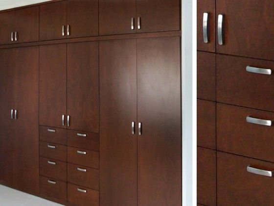 Closet architecture and design pinterest closets for Closet de madera para dormitorios