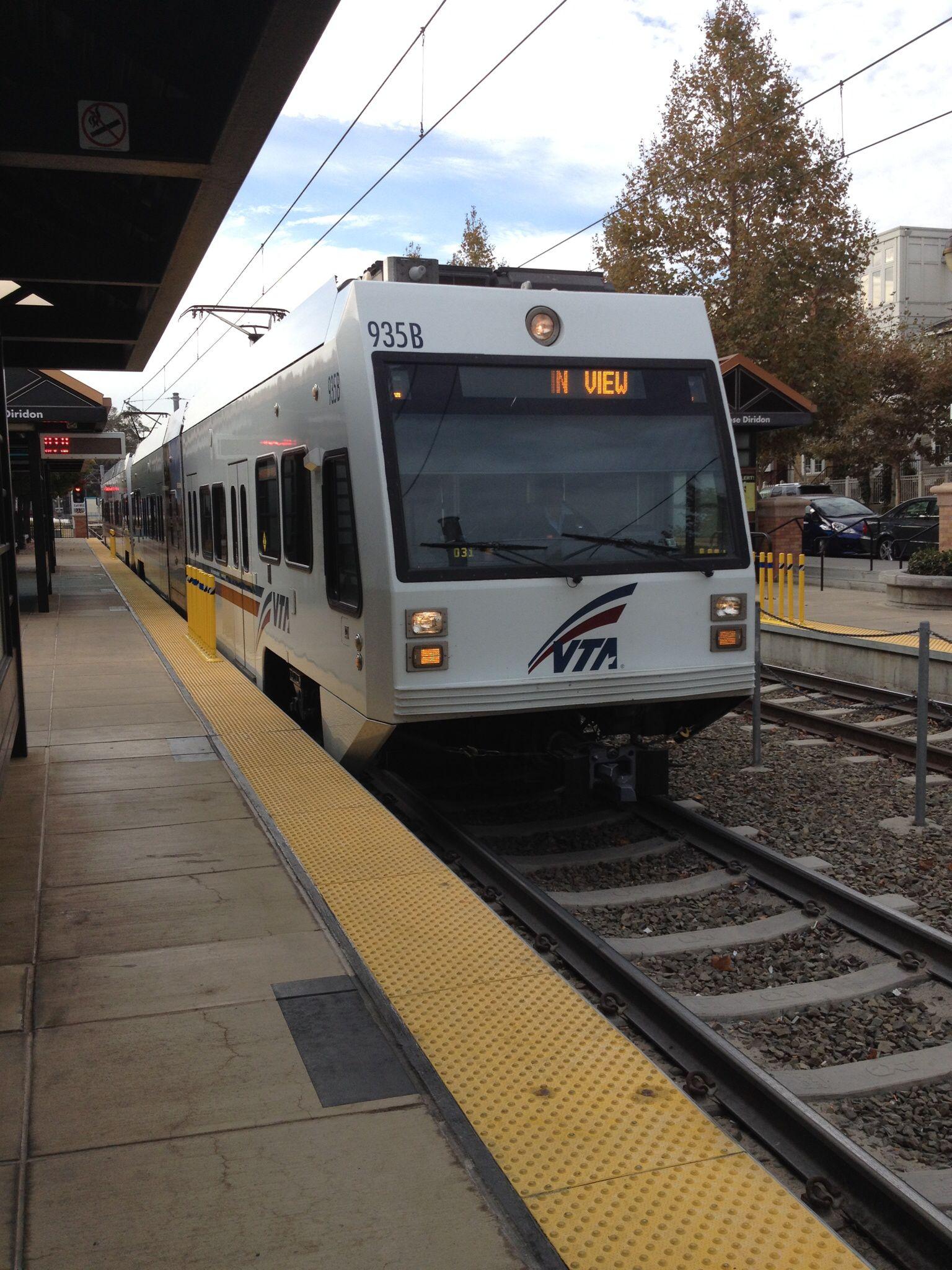 VTA Light Rail, San Jose, CA