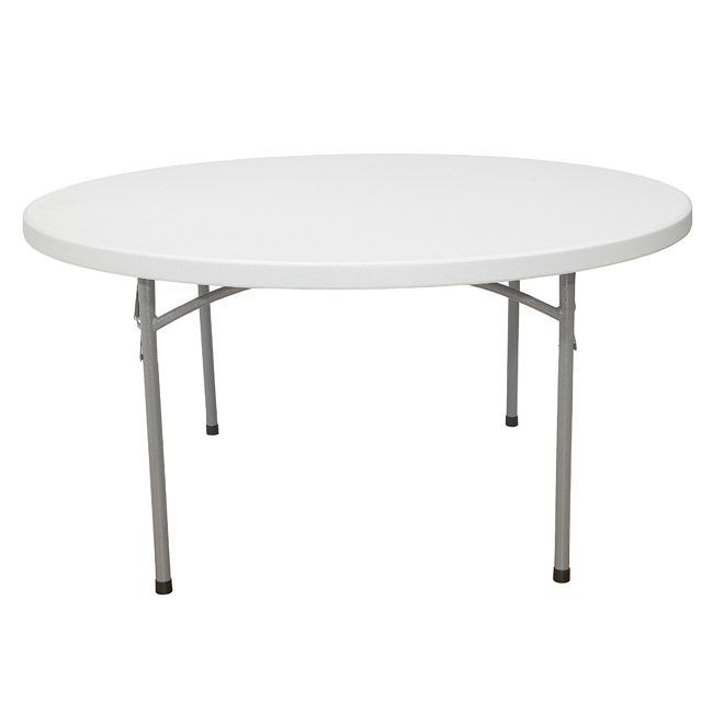 Bon National Public Seating Round Blow Molded 60x60 In Lightweight Folding  Tables | Products | Pinterest | Folding Tables, Office Furniture Stores And  Rounding
