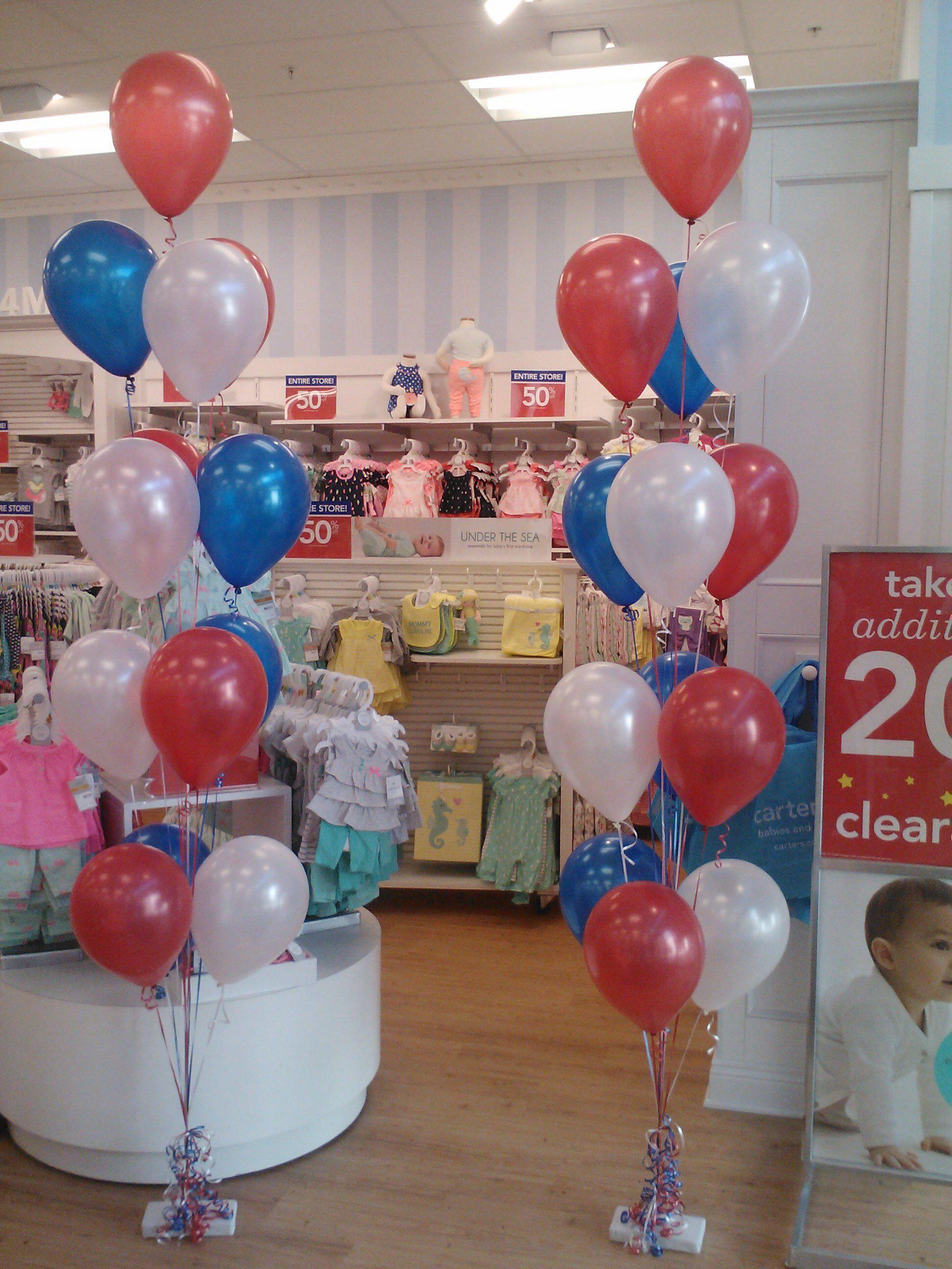 Palmbeachballoons helium balloon decorations in
