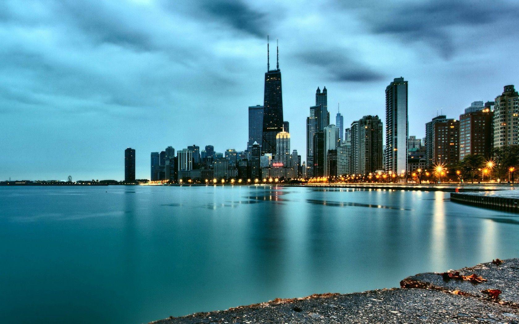 Chicago Hd Wallpaper Chicago Wallpaper Chicago Background Chicago Skyline Photography
