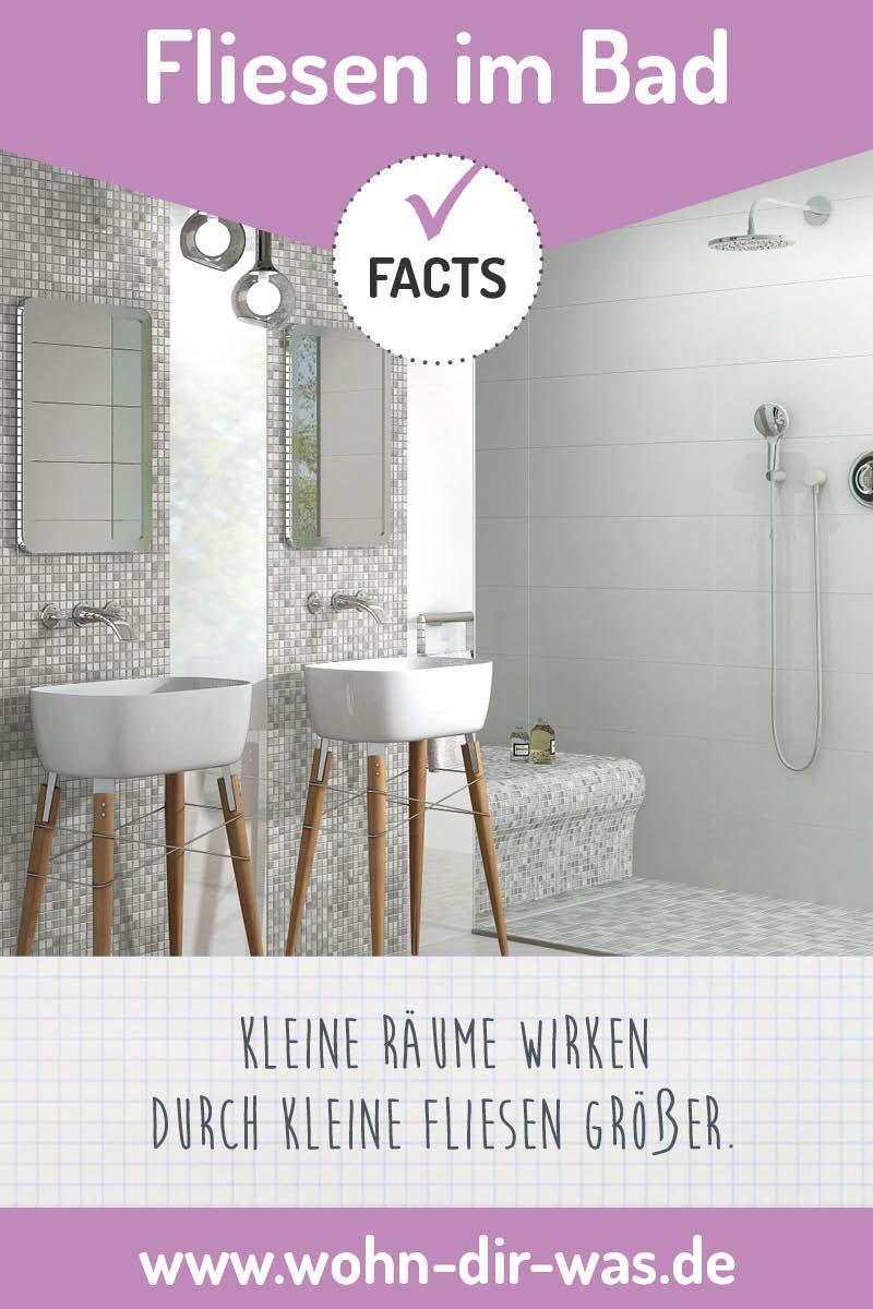 Badezimmer Richtig Planen Mit Unterstutzung Von Wohn Dir Was Kleine Fliesen Neues Bad Und Fliesen
