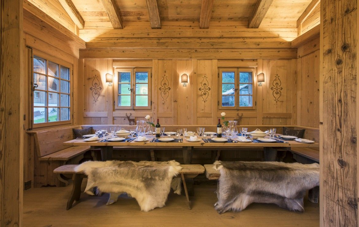 A LUXURIOUS CHALET JUST OUTSIDE GSTAAD in 2020 Chalet