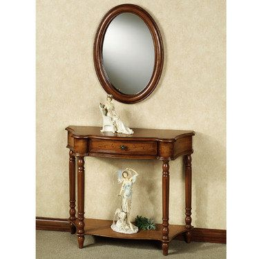 Amber Manor Console Table And Mirror Set 319 99 Touch Of Class Com Mirrored Sofa Table Mirrored Console Table Mirror Table