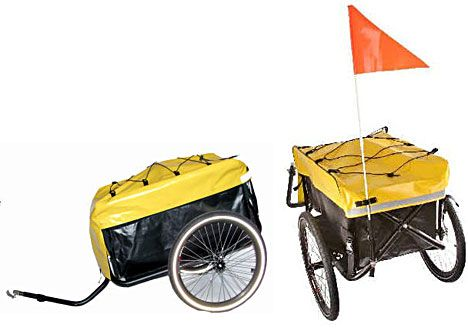 Bike Trailer With Jogger And Stroller Conversion Bike Trailer
