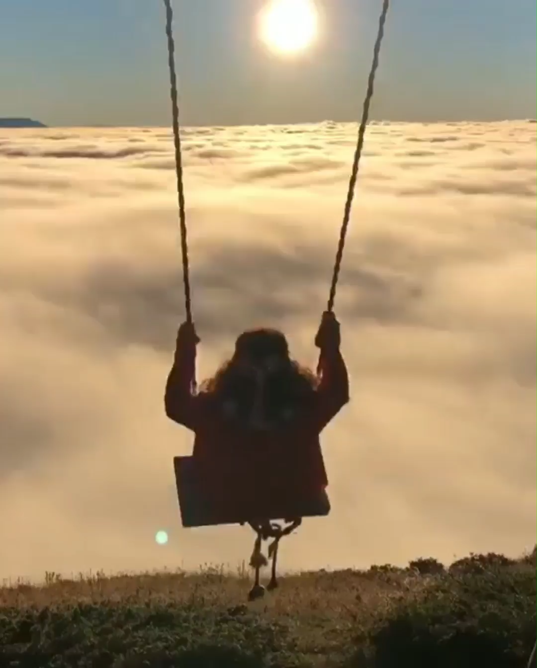 A Swing in the Skies! 😍