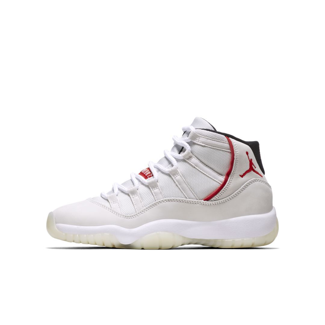 official photos f02de 22c5d Air Jordan 11 Big Kids' Shoe Size 5.5Y (Platinum Tint ...