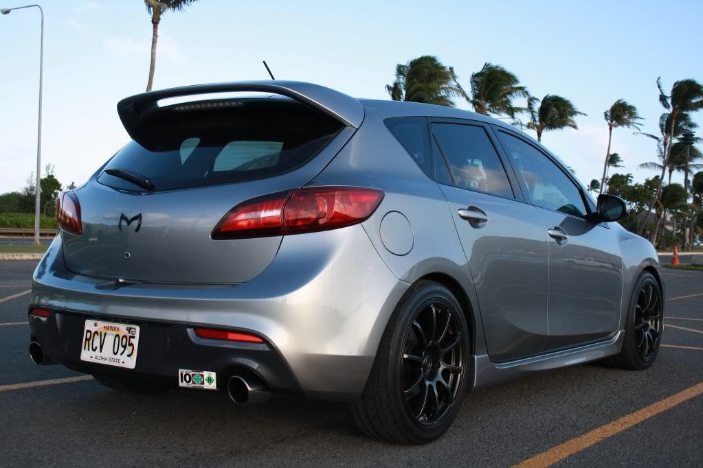 Mazdaspeed 3 Rota Grids 18x8 5 48 H R Springs No Rub Mazda