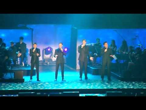 Il Divo My heart will go on Sheffield Arena 2013
