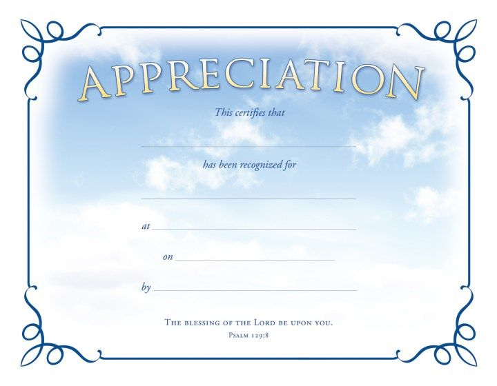 awards certificates templates free download appreciation - certificate of appreciation templates free download