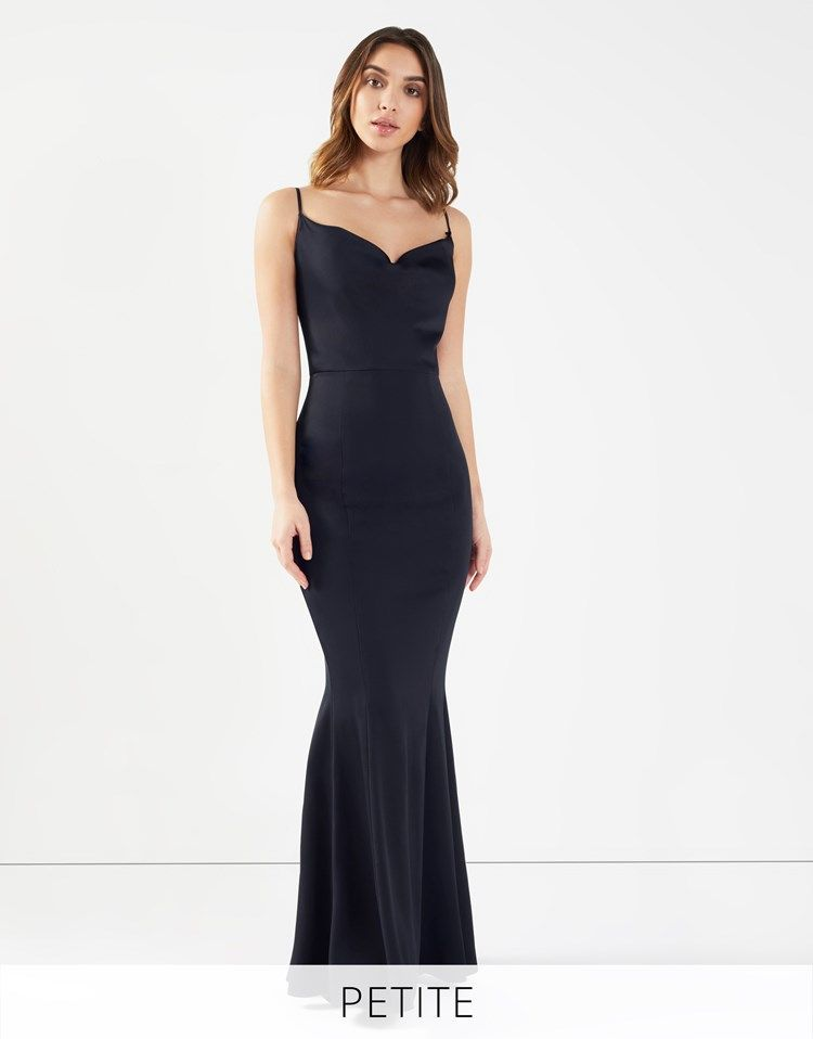 b48a82c631 Lipsy Petite Cowl Neck Maxi Dress | Fashion in 2019 | Ankle strap ...