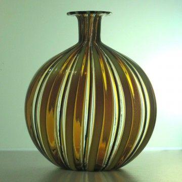 Vase bouteille La Murrina Murano maison sucrée maison Pinterest