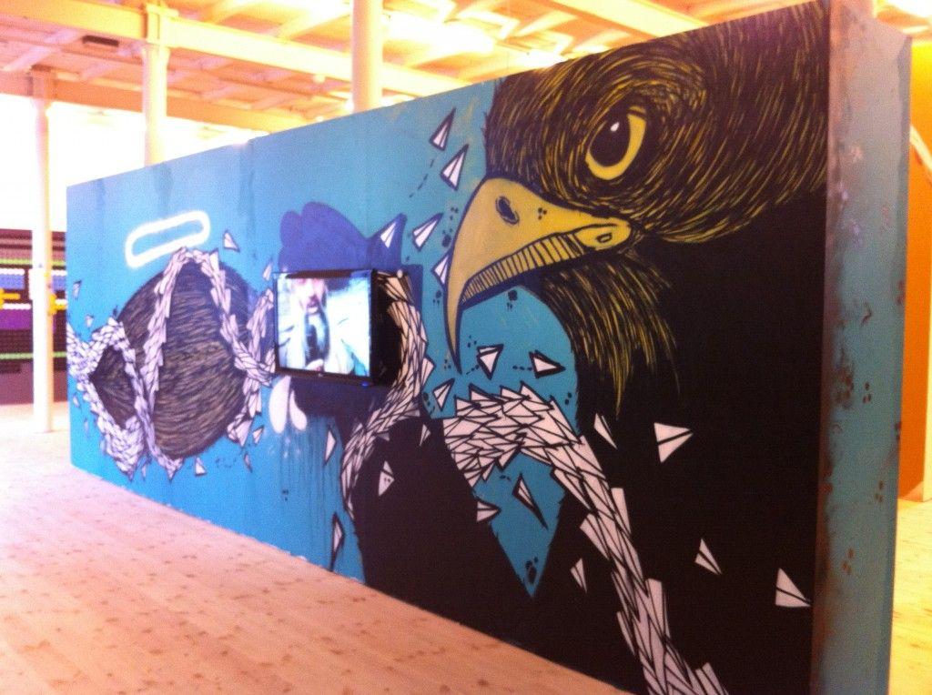 Otto Maja - Street Art: The New Generation på Brandts Klædefabrik