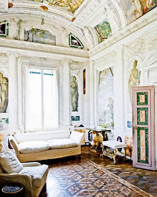 Villa barbaro architect andrea palladio french for Riviste interior design