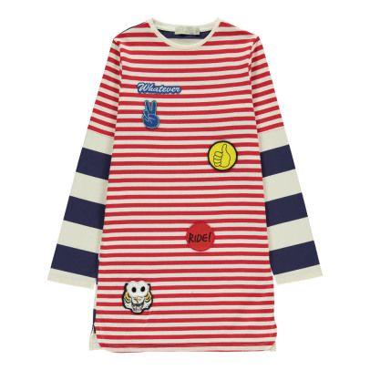 Stella McCartney Kids Vestido Rayas Parches Kora-listing