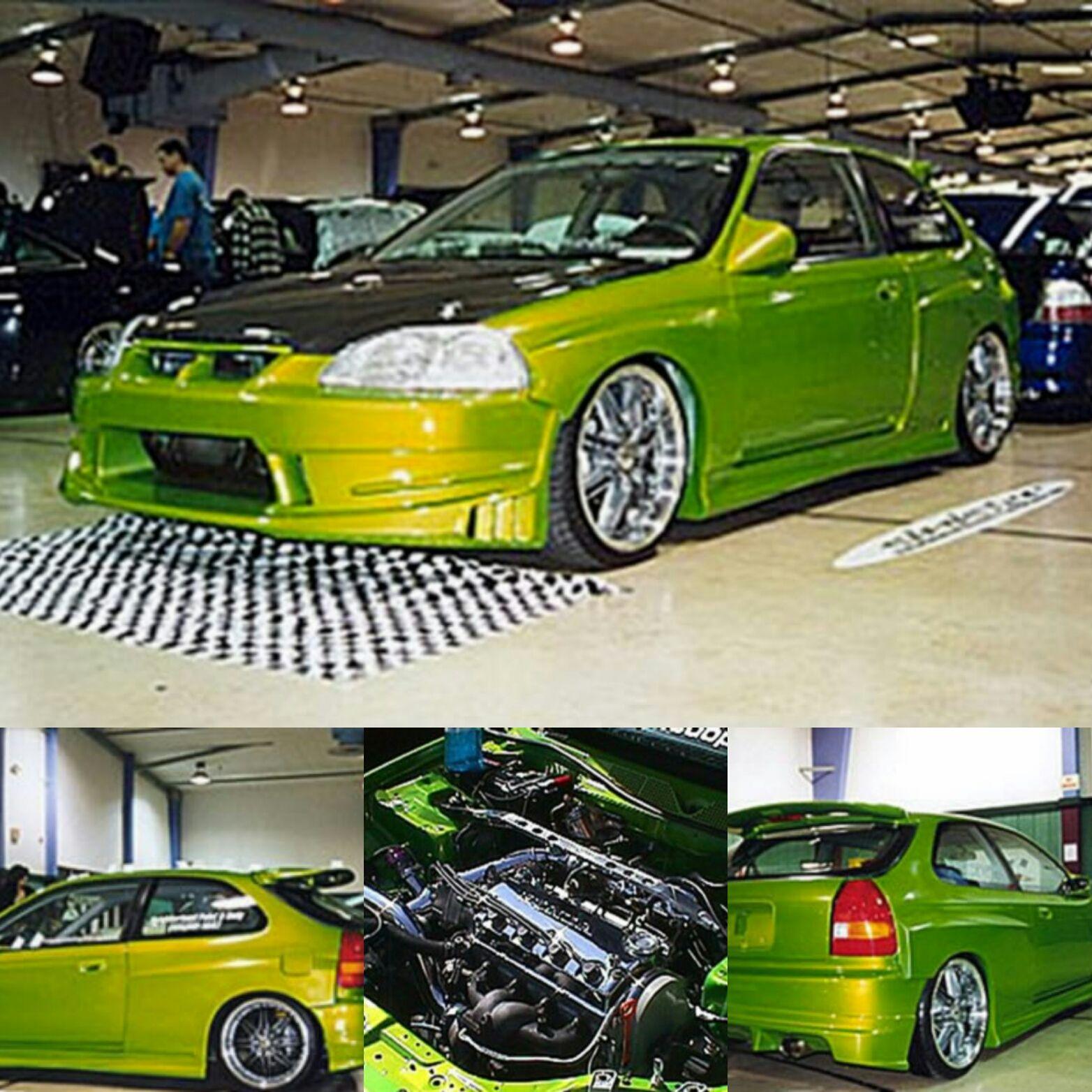 Chris Osgoodu0027s 1995 Honda Civic DX Coupe B16A SiR | Honda Civic, Honda And  Cars