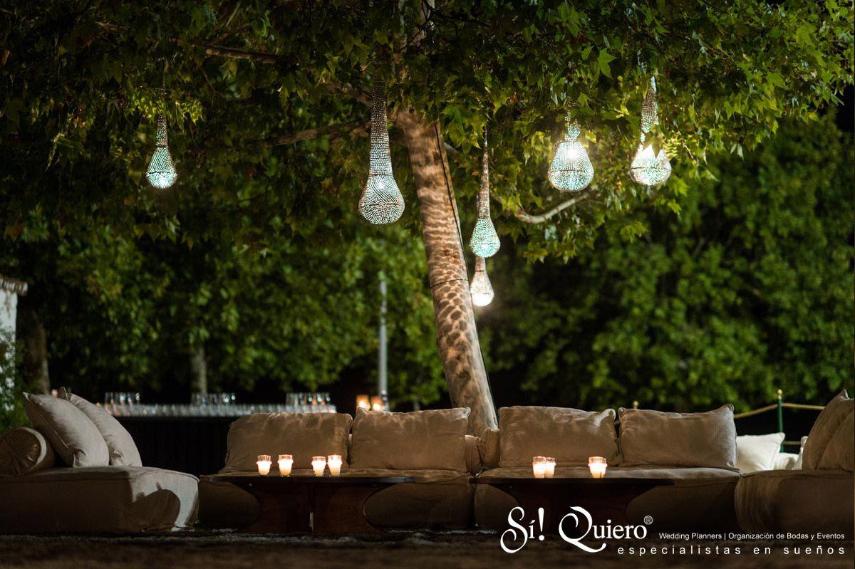 Espacio #ChillOut en la #boda de Jesús y Yara. / Chill out space at ...