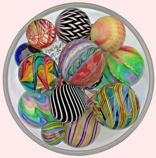 Bowl of Marbles - Square Circle | Flickr - Photo Sharing! - Pinned with Pin Anything from pin4ever.com