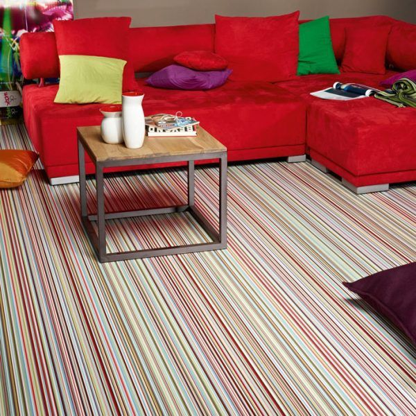 Effective and interesting floors Striped floor in 2020