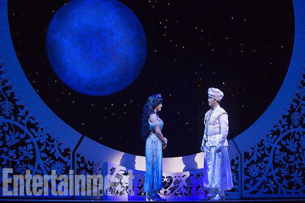 Disney S Aladdin On Broadway First Look Aladdin Musical Aladdin Broadway Aladdin Show