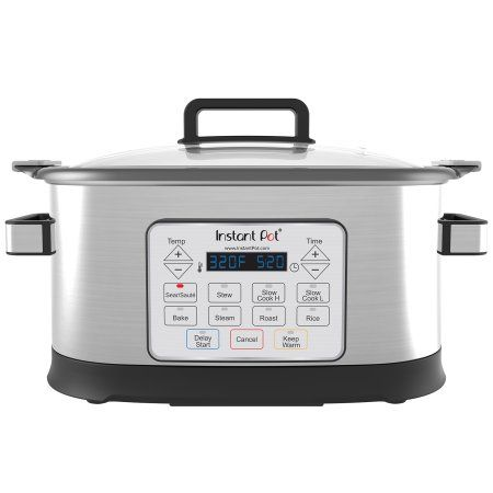 6aa6a8b2bc73 Instant Pot Gem 6 Qt 8-in-1 Programmable Multicooker with Advanced  Microprocessor Technology, Silver