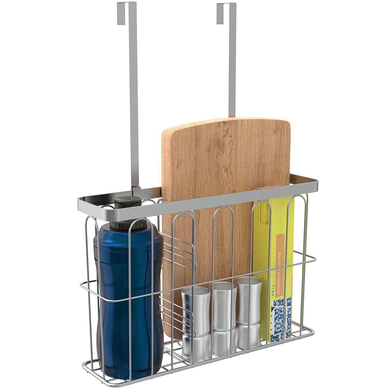 Amazon ulfr over the cabinet door kitchen storage organizer