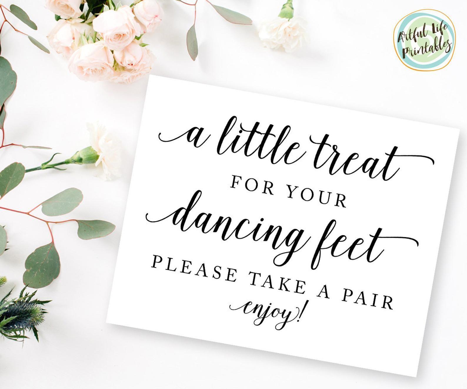 Dancing Shoes Sign Dancing Feet Wedding Sign Flip Flops Etsy In 2020 Flip Flop Sign Wedding Flip Flops Wedding Signs