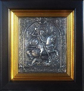 Икона Георгий Победоносец цена - Иконы <- Картины, плакетки, рельефы купить…