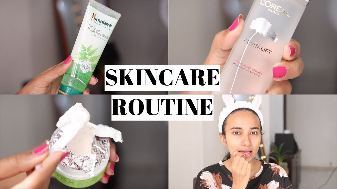 Skincare Routine Indian Oily Combination Skin With Affordable Products In 2020 Skin Care Face Products Skincare Skin Care Routine
