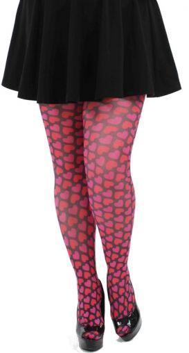 Pink Hearts-Miss Difusa by Miss Difusa on CurvyMarket.com Plus Size