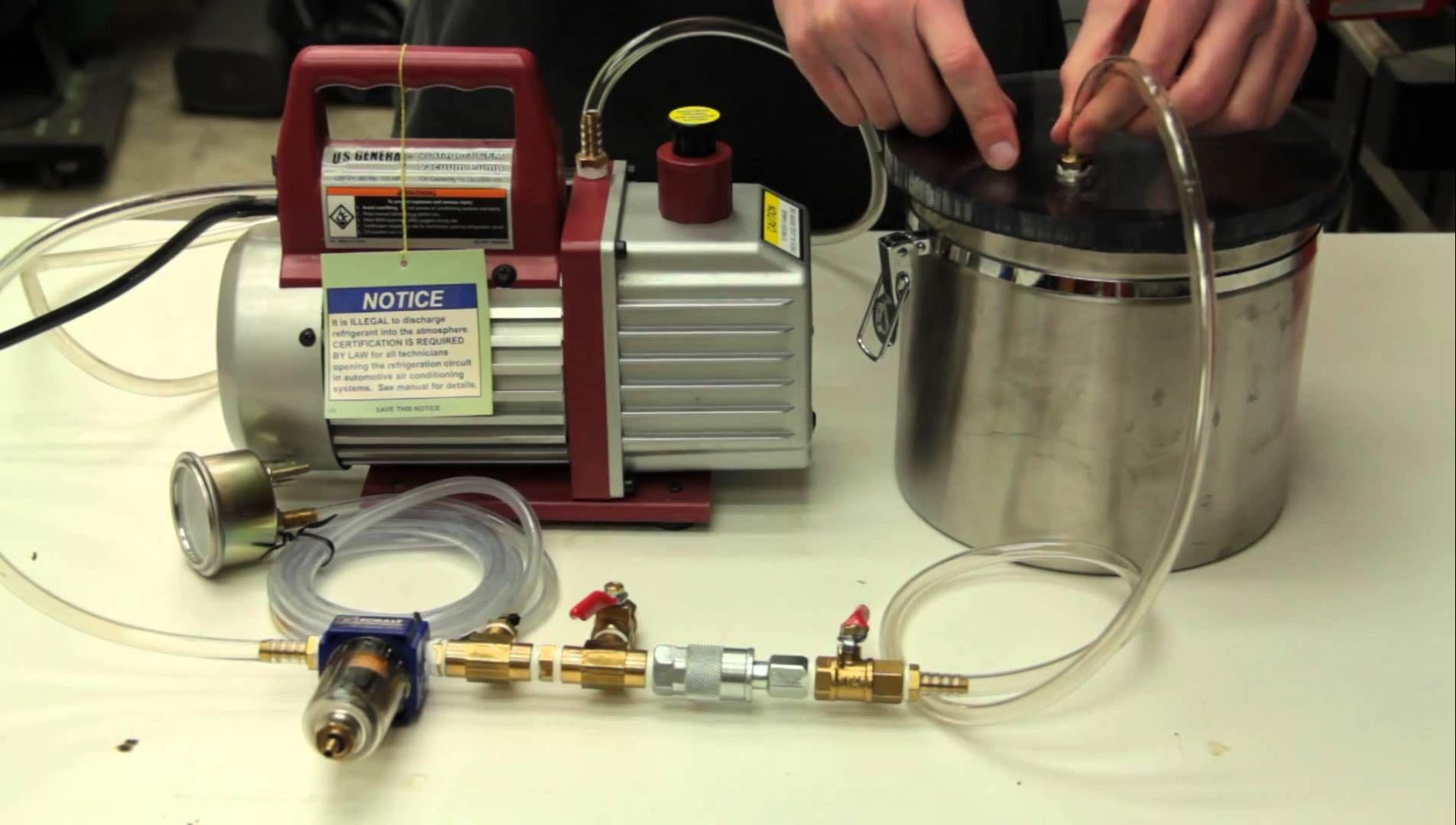Diy vacuum chamber setup vacuums diy how to make resin