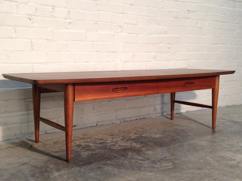 LANE MID-CENTURY DANISH MODERN COFFEE / COCKTAIL TABLE  ~  SUPER NICE CONDITION