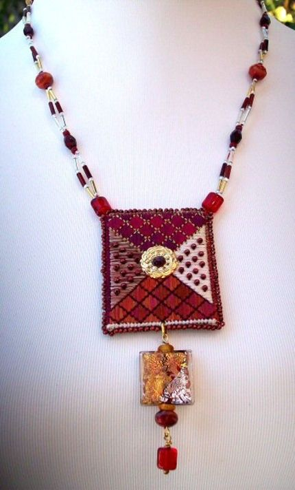VENTE collier  collier de perles de pendentif par lesjardinsdevie