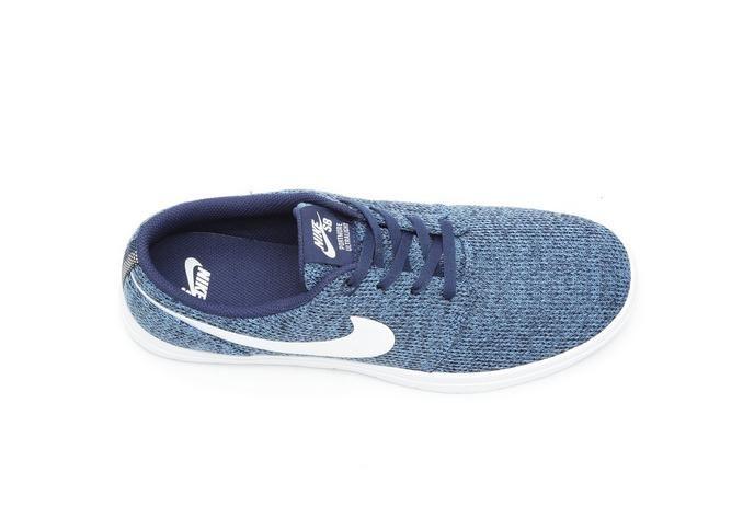 Men's Nike SB Portmore II Ultralite Skate Shoes Blue/Wht 414   Shoe Carnival