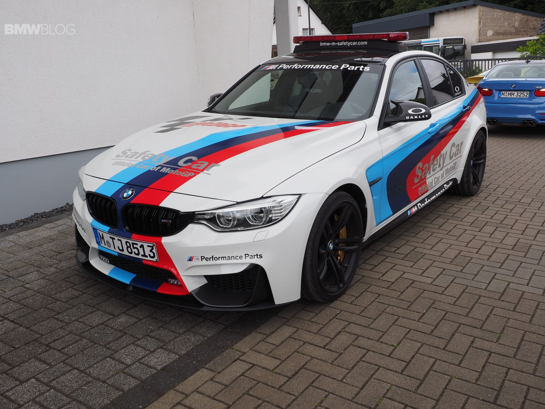 F80 BMW M3 Safety Car delivers a great exhaust sound Bmw