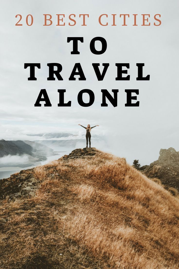Found this list of best cities to travel alone too. Gave me so many ideas of where I can travel solo and have a great time and be safe. These solo travel ideas are so good I didn't know some of these cities were so good to travel alone to, I can't do all of these places to travel alone but maybe with time!